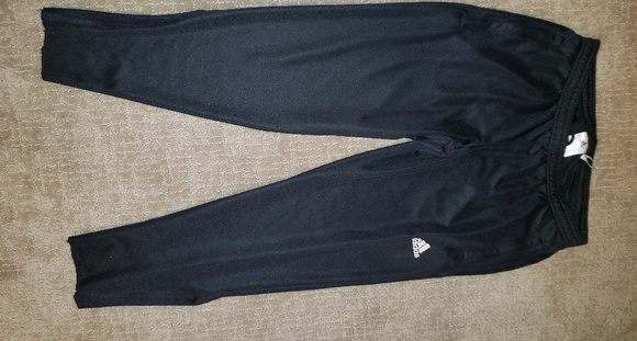 adidas pants no stripes